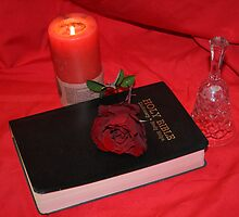 Rose,book,candle & Bell 2 by TeAnne