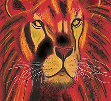 Sun Lion by Dawn B Davies-McIninch