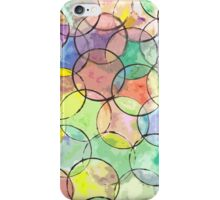 Cirlces a Many iPhone Case/Skin