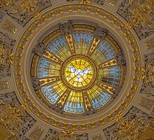 Germany. Berlin. Cathedral. Dome.  by vadim19