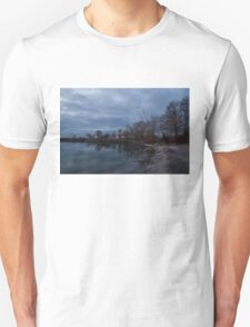 Early, Still and Transparent - on the Shores of Lake Ontario in Toronto T-Shirt