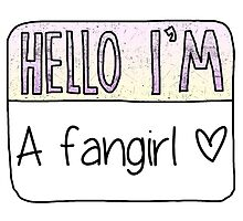 Hello I'm a fangirl by poppetini