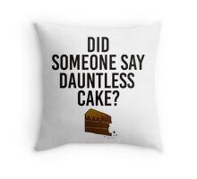 Dauntless Cake Throw Pillow