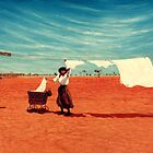 Outback Washday by Cary McAulay