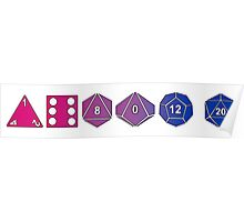 Bisexuality Pride (Polyhedral Edition) Poster