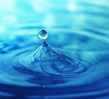 Balance in blue by Karin Eberhard