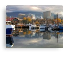 Reflections of Hobart Canvas Print