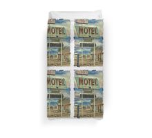 Route 66 Budget Motel iPhone 4 Case Duvet Cover