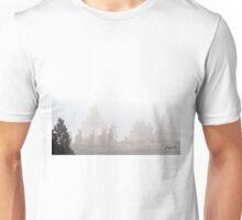 Elk In The Fog Unisex T-Shirt