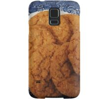 Oat Flake and Honey Crunchy Biscuits Samsung Galaxy Case/Skin