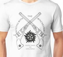 Hunting with the Winchesters Unisex T-Shirt