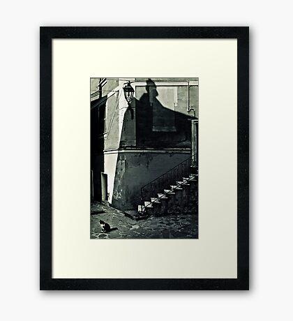 The Mark of Zorro... Framed Print