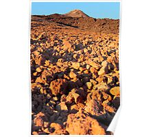 Mount Teide at Sunset Poster