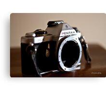 Pentax SLR Canvas Print