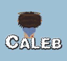 *Brown Hair Angel Sitting on Cloud Name* One Piece - Short Sleeve