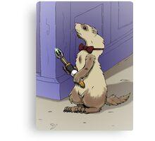 Ferret Who Canvas Print