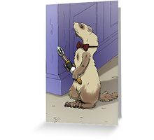 Ferret Who Greeting Card