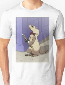 Ferret Who Unisex T-Shirt