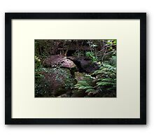Enchanted Grotto.... Framed Print