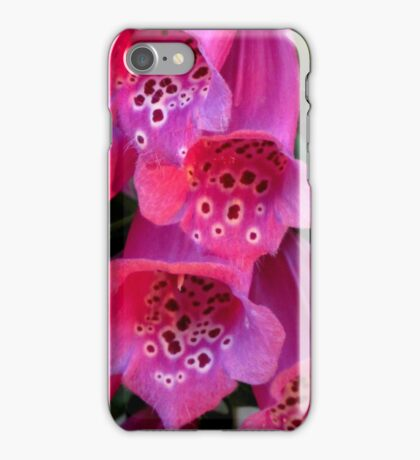 Sun-Kissed Foxglove, Wickedly Wonderful and Seductive iPhone Case/Skin
