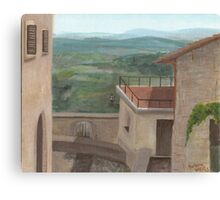 Montecastello Canvas Print