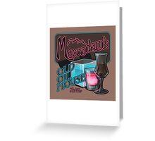 Maccadam's Greeting Card
