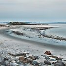 Sand Along the Shoreline by Richard Bean