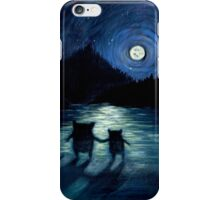 Moonlight Monsters iPhone Case/Skin