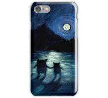 Moonlight Monsters iPhone Case/Skin