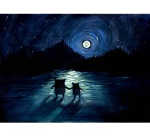 Moonlight Monsters Photographic Print