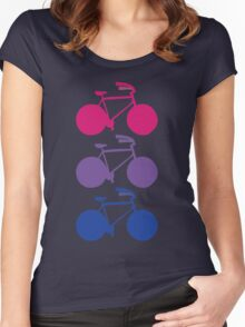 Bi-cycle Women's Fitted Scoop T-Shirt
