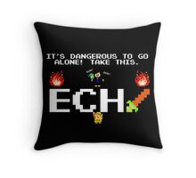 JonTron- It's Dangerous to go alone! Throw Pillow