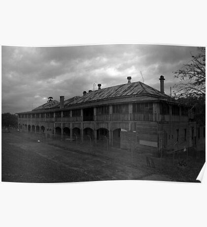 Wolston Park Mental Asylum (Woogaroo) - Brisbane Poster