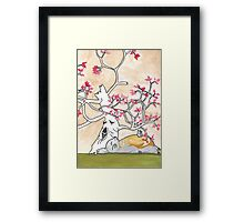 House of Ghibli Framed Print