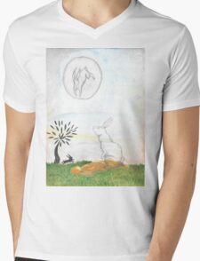 Watership Down Mens V-Neck T-Shirt