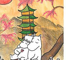 Moomin Love in Japan by adrawndisorder