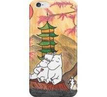 Moomin Love in Japan iPhone Case/Skin