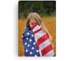 Giggly Patriot Canvas Print
