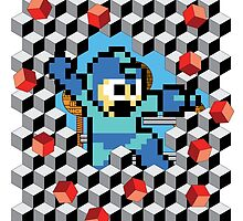 Megaman Breakout by astevensdesigns