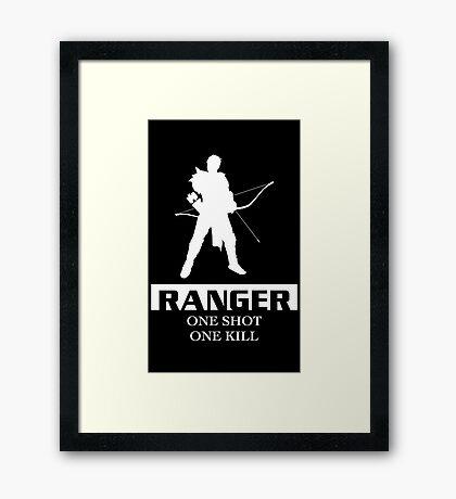 Ranger Inverted Framed Print