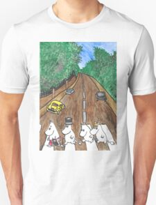 Moomins Parody Abbey Road  T-Shirt