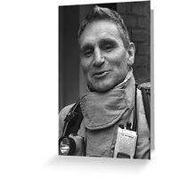 Fireman Greeting Card