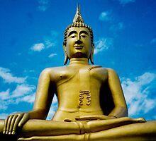 big buddha, koh samui, thailand by gary roberts