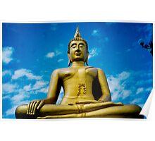 big buddha, koh samui, thailand Poster