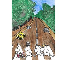 Moomins Parody Abbey Road  Photographic Print