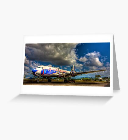 Eastern Airlines Vision of the Past Greeting Card