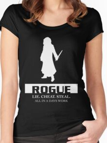 Rogue Inverted Women's Fitted Scoop T-Shirt