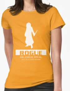 Rogue Inverted Womens Fitted T-Shirt
