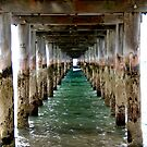 Under the Pier - Flinders, VIC by Alison Howson
