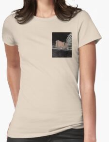 Night image Womens Fitted T-Shirt